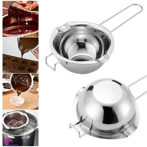 Dụng cụ nấu chảy socola inox